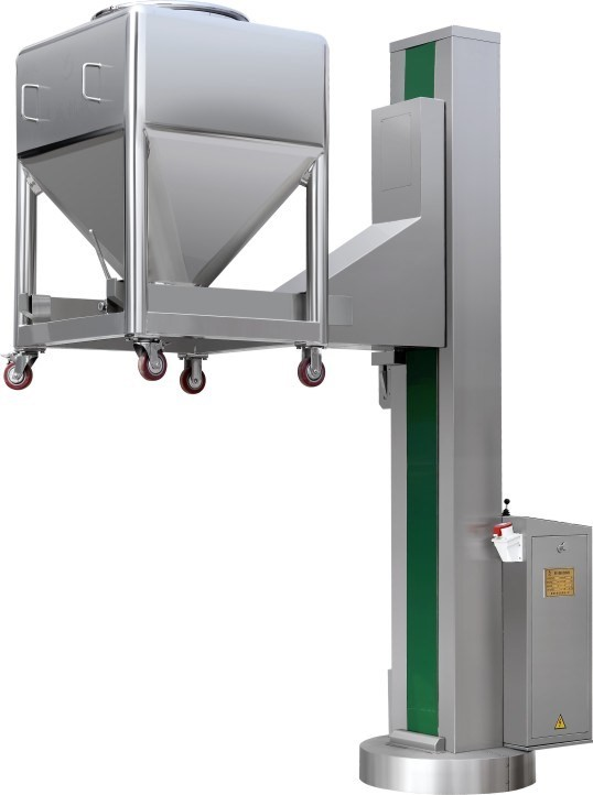 Bowl Lifting and Tilting Device Machine